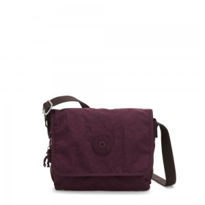 Kipling NITANY Medium Crossbody Bag Dark Plum