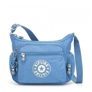 Kipling GABBIE S Crossbody Bag with Phone Compartment Dynamic Blue