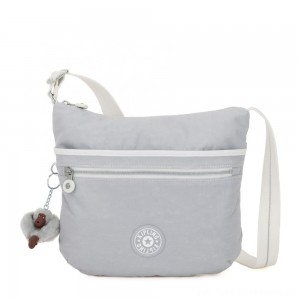 Kipling ARTO Shoulder Bag Across Body Active Grey Bl