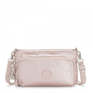Black Friday 2020 - Kipling MYRTE Small 2 in 1 Crossbody and Pouch Metallic Rose
