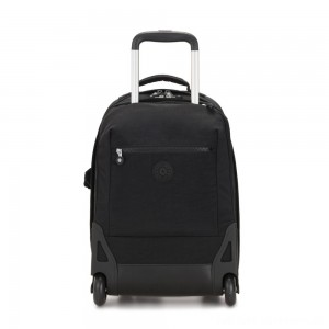 Black Friday 2020 - Kipling SOOBIN LIGHT Large wheeled backpack with laptop protection True Black