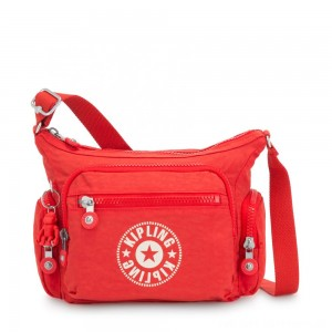 Kipling GABBIE S Crossbody Bag with Phone Compartment Active Red NC