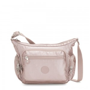 Black Friday 2020 - Kipling GABBIE S Crossbody Bag with Phone Compartment Metallic Rose