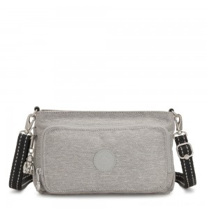 Black Friday 2020 - Kipling MYRTE Small 2 in 1 Crossbody and Pouch Chalk Grey