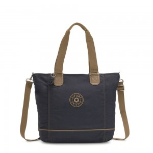 Black Friday 2020 - Kipling SHOPPER C Large Shoulder Bag With Removable Shoulder Strap Night Grey Block