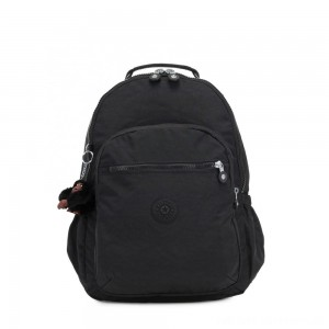 Black Friday 2020 - Kipling SEOUL GO Large Backpack with Laptop Protection True Black