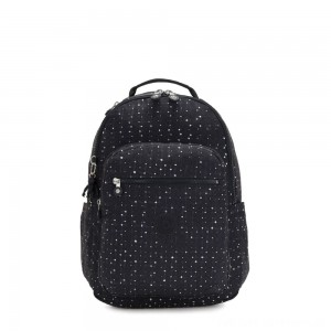Black Friday 2020 - Kipling SEOUL Large backpack with Laptop Protection Tile Print