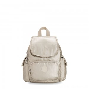 Black Friday 2020 - Kipling CITY PACK MINI City Pack Mini Backpack Cloud Metal