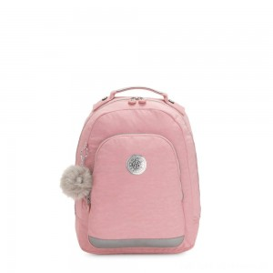 Black Friday 2020 - Kipling CLASS ROOM S Small backpack with laptop protection Bridal Rose