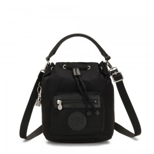 Black Friday 2020 - Kipling VIOLET S Small Crossbody Convertible to Handbag/Backpack Galaxy Black