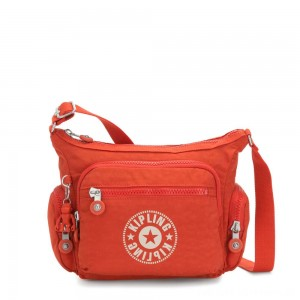 Black Friday 2020 - Kipling GABBIE S Crossbody Bag with Phone Compartment Funky Orange Nc