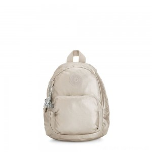 Black Friday 2020 - Kipling GLAYLA Extra small 3-in-1 Backpack/Crossbody/Handbag Cloud Metal Gifting