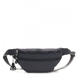 Kipling SARA Medium Bumbag Convertible to Crossbody Bag Night Grey