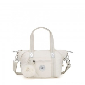Kipling ART MINI Handbag Dazz White