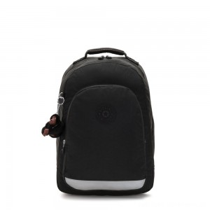 Kipling CLASS ROOM Large backpack with laptop protection True Black
