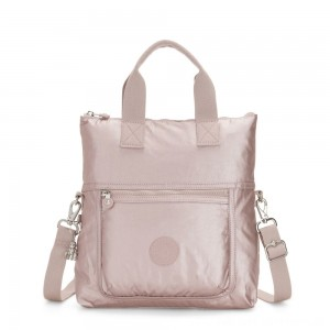 Black Friday 2020 - Kipling ELEVA Shoulderbag with Removable and Adjustable Strap Metallic Rose