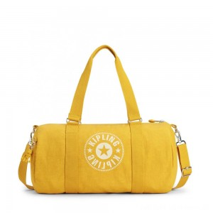 Black Friday 2020 - Kipling ONALO Multifunctional Duffle Bag Lively Yellow