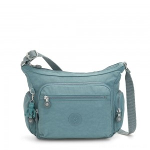 Black Friday 2020 - Kipling GABBIE S Crossbody Bag with Phone Compartment Aqua Frost