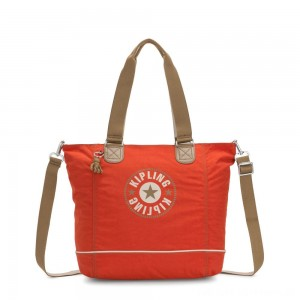 Black Friday 2020 - Kipling SHOPPER C Large Shoulder Bag With Removable Shoulder Strap Funky Orange Block