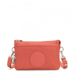 Kipling RIRI Small Cross-Body Bag Soft Orange