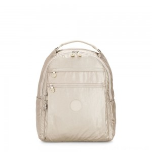 Kipling MICAH Medium Backpack Cloud Metal