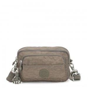 Kipling MULTIPLE Waist Bag Convertible to Shoulder Bag Seagrass