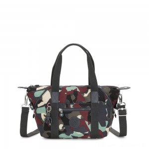 Kipling ART MINI Handbag Camo Large