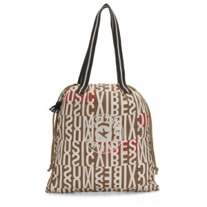 Black Friday 2020 - Kipling NEW HIPHURRAY Small Foldable Tote with drawstring Studio Print