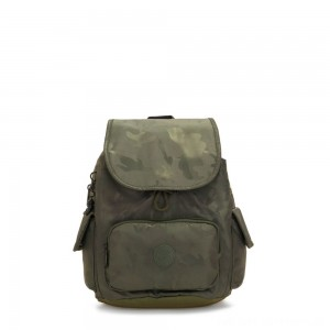 Black Friday 2020 - Kipling CITY PACK S Small Backpack Satin Camo