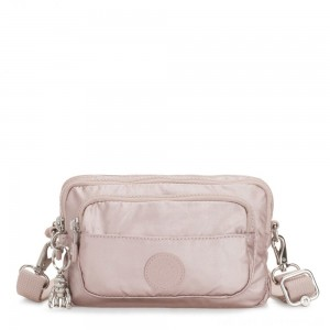 Black Friday 2020 - Kipling MULTIPLE Convertible waist bag Metallic Rose
