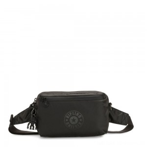 Kipling HALIMA Small 2-in-1 Waistbag and Crossbody Raw Black