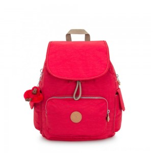 Black Friday 2020 - Kipling CITY PACK S Small Backpack True Red C