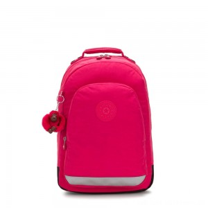 Black Friday 2020 - Kipling CLASS ROOM Large backpack with laptop protection True Pink