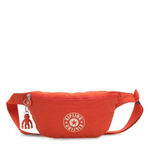 Kipling FRESH Medium Bumbag Funky Orange Nc