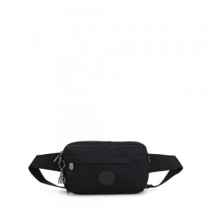 Kipling HALIMA Small 2-in-1 Waistbag and Crossbody Rich Black