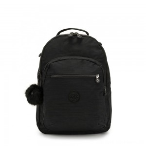 Black Friday 2020 - Kipling CLAS SEOUL Large backpack with Laptop Protection True Dazz Black