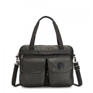Black Friday 2020 - Kipling MARIC Working Bag with laptop protection Black Metallic