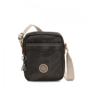 Black Friday 2020 - Kipling HISA Small Crossbody bag with front magneic pocket Delicate Black