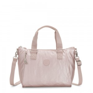 Black Friday 2020 - Kipling AMIEL Medium Handbag Metallic Rose