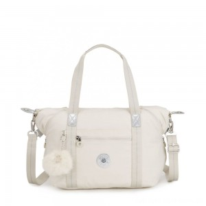 Kipling ART Handbag Dazz White