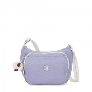 Kipling CAI Handbag with Extendable Strap Active Lilac Bl