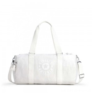 Black Friday 2020 - Kipling ONALO Multifunctional Duffle Bag Lively White