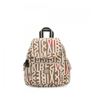 Black Friday 2020 - Kipling CITY PACK MINI City Pack Mini Backpack Studio Print