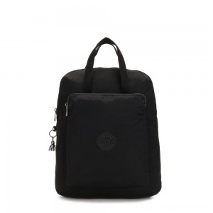 Kipling KAZUKI Large 2-in-1 Shoulderbag and Backpack Rich Black