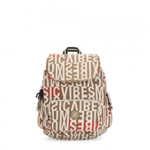 Kipling CITY PACK S Small Backpack Studio Print