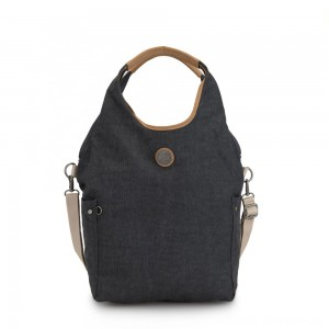 Kipling URBANA Hobo Bag Across Body With Removable Shoulder Strap Casual Grey