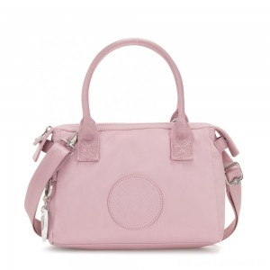 Kipling LERIA Small Shoulderbag with adjustable and removable shoulderstrap Faded Pink
