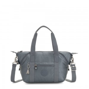 Black Friday 2020 - Kipling ART MINI Handbag Steel Grey Metallic