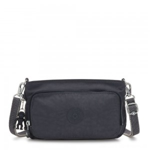 Kipling MYRTE Small 2 in 1 Crossbody and Pouch Night Grey