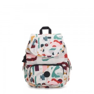 Kipling CITY PACK S Small Backpack Music Print